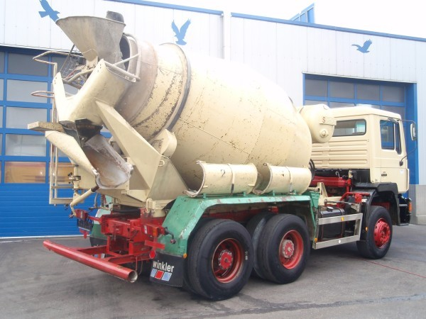 Concrete Mixer - MAN242K