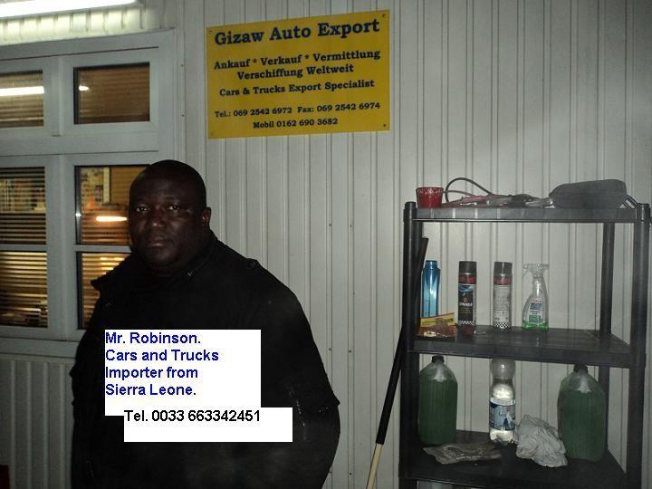 Car Dealer from West Africa