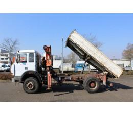 Iveco Crane Tipper Truck - ITV9X