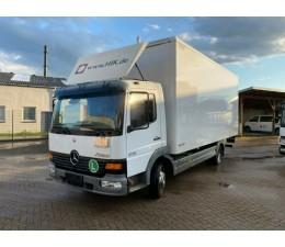 Mercedes Box Truck.- MBB4XA